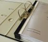 ABHEFTSCHIENE -- gebundene Unterlagen abheften ohne Lochen